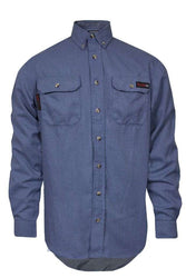 NSA  - TECGEN SELECT Light Blue FR Work Shirt - TCG011902_