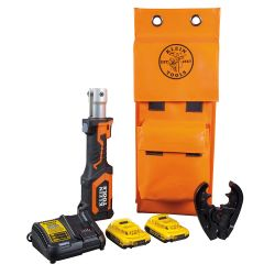 Klein - Battery-Operated 7-Ton Cable Crimper Kit O - BAT20-7T23