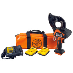 Klein - Battery-Operated EHS Closed-Jaw Cable Cutter Kit - BAT20-GD1