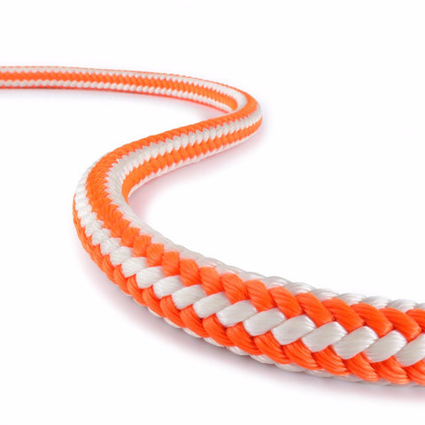 "Teufelberger - HiVee Orange 1/2"" Climbing Rope - NE3255"