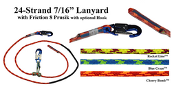 All Gear - EZ Adjustable Lanyard 12' Rocketline - AG24SP71612SHA, All Gear - J.L. Matthews Co., Inc.