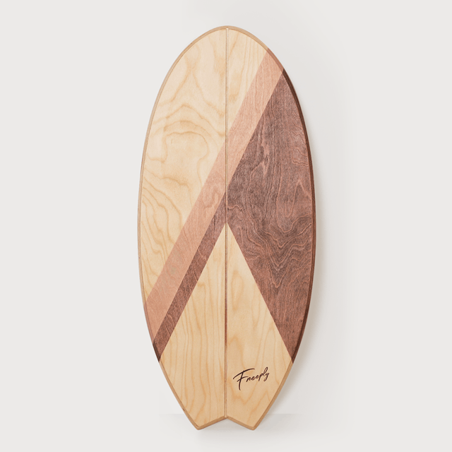 Balance Board Fish - Beige Brown