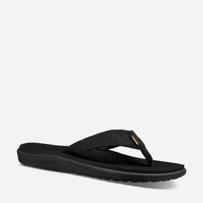 Men's Teva Voya Flip Flops- Black