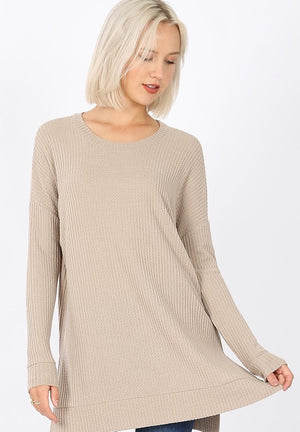 Women's Thermal Tunic- Ash Mocha