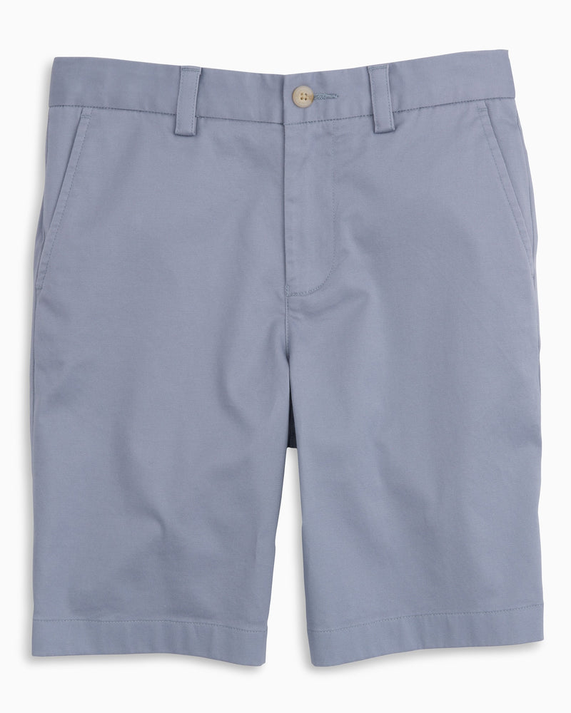 Boys Southern Tide Channel Maker Shorts- Tsunami Grey