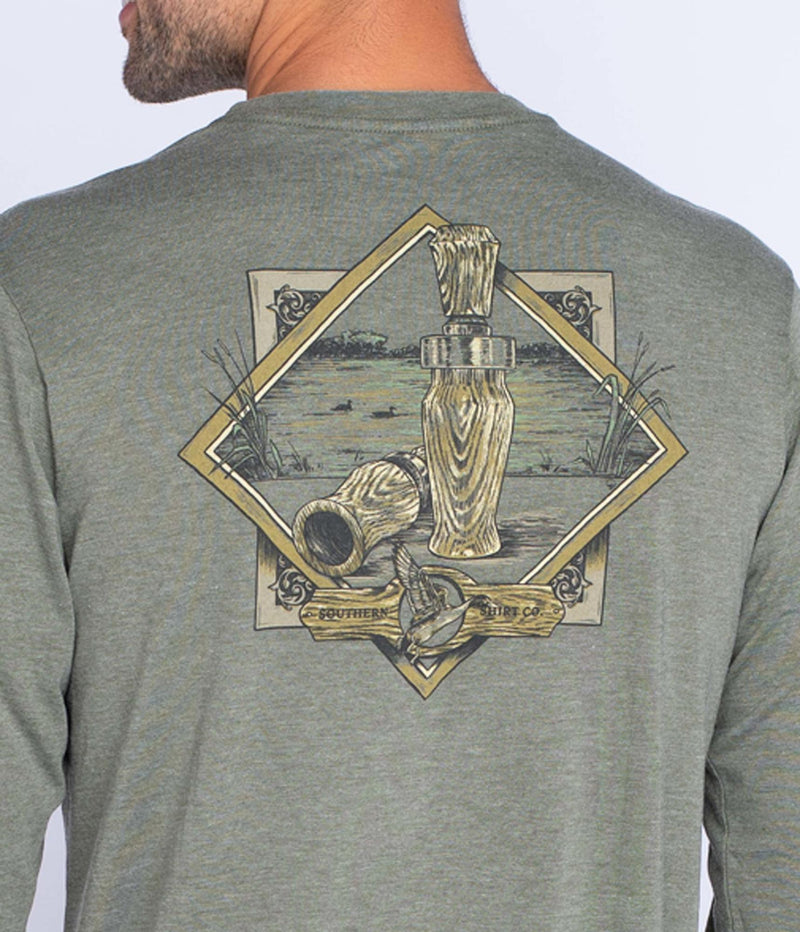 Southern Shirt Company Long Sleeve Waterfowl Sportsman Tee- Mossberg