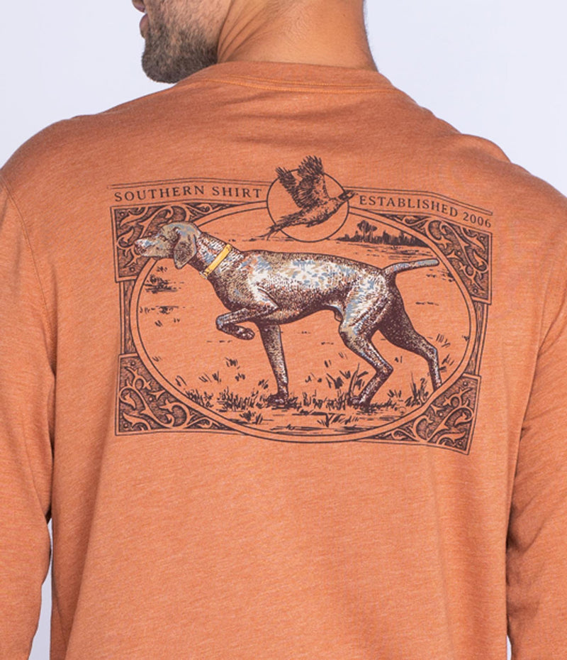 Southern Shirt Company Long Sleeve Gun Dog Tee- Harvest