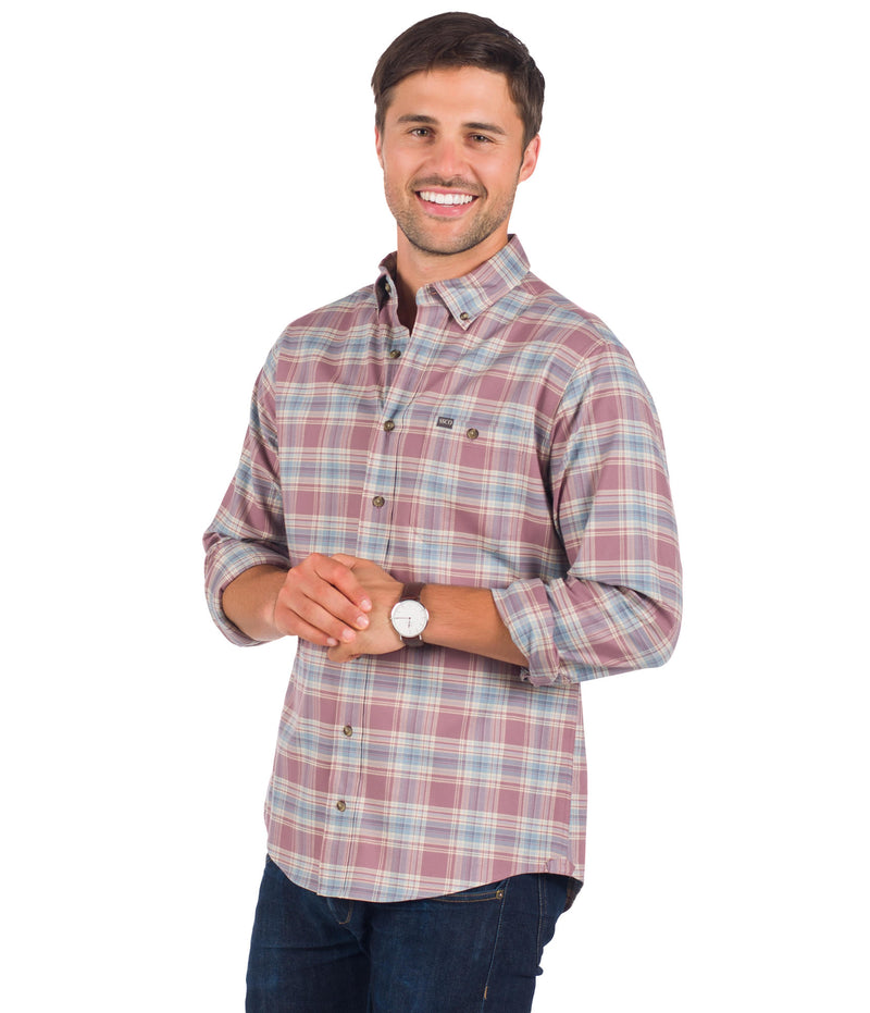 Men's Southern Shirt Company- Napa Valley Flannel- Concord