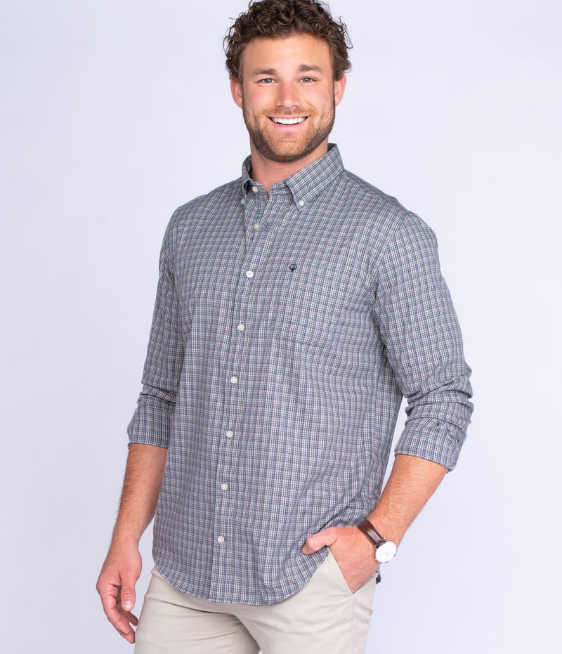 Men's Southern Shirt Company Buckner Check- Tapestry