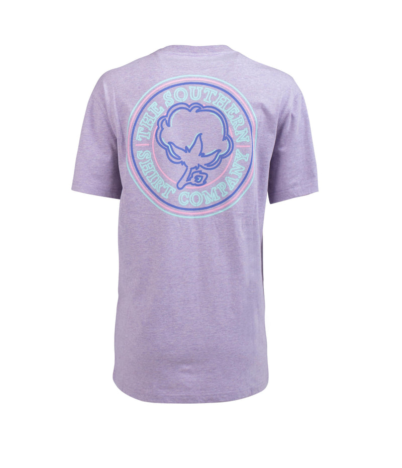 Southern Shirt Company Short Sleeve Glow Girl Tee- Berry Fizz