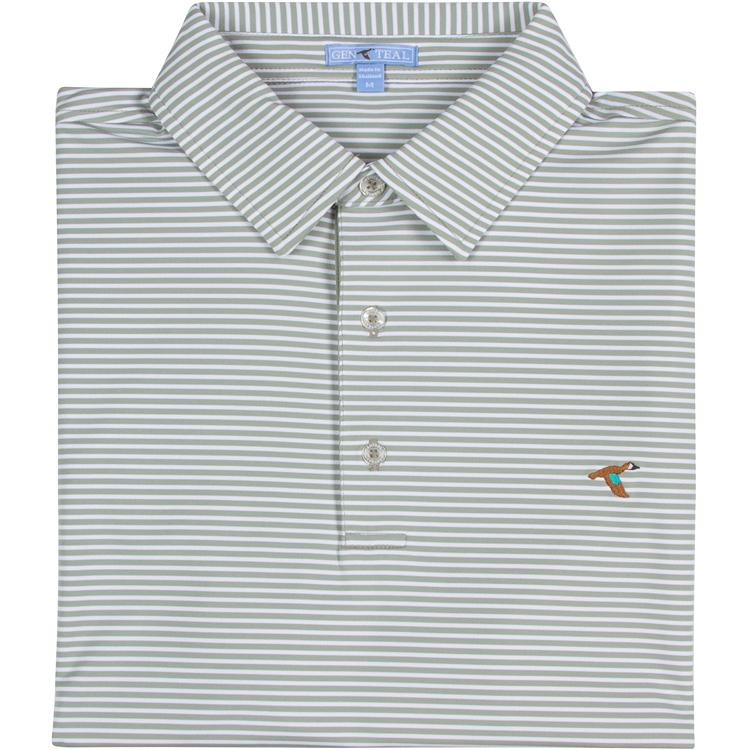 Men's GenTeal Apparel Clubhouse Performance Polo- Fairway