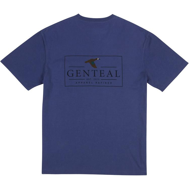 GenTeal Apparel Logo Tee- Twilight