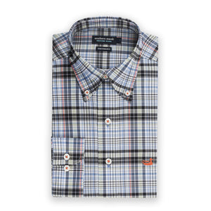 Men's Southern Marsh Hays Performance Check Button Down- Sage