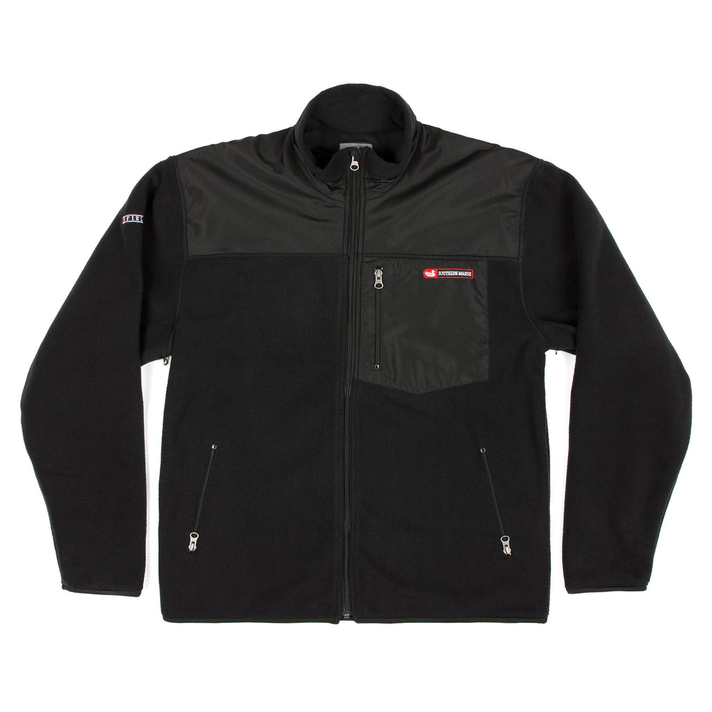 Southern Marsh FieldTec Fleece Jacket- Black