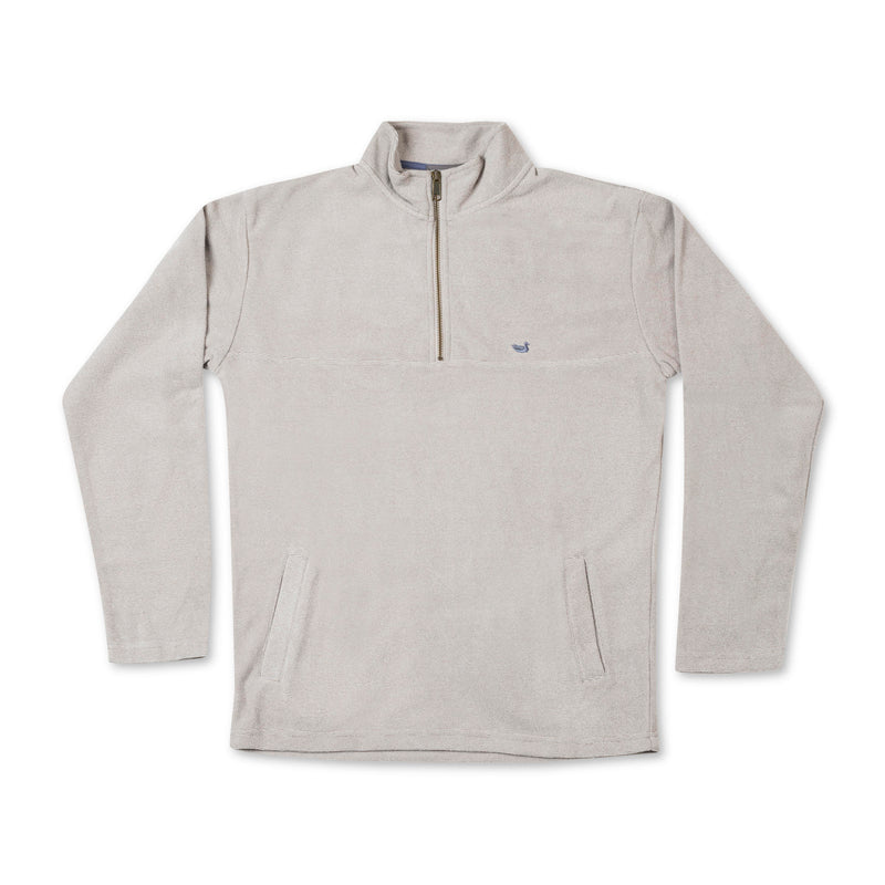 Southern Marsh Copper Trail Fleece Pullover- Burnt Taupe