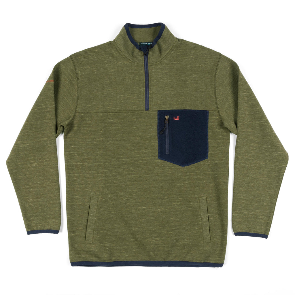 Southern Marsh Lockhart Stretch Pullover- Olive
