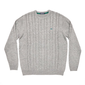 Men's Southern Marsh Townsend Sweater- Washed Grey
