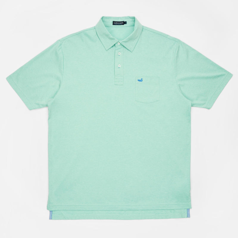 Men's Southern Marsh Harrington Polo- Antigua Blue