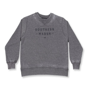 Youth Southern Marsh Seawash Gameday Sweatshirt- Midnight Grey