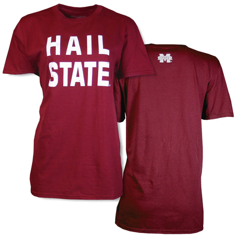 47a71c1b1740 Southern Collegiate Simple Words Heathered Tee- Maroon – SoCo Apparel