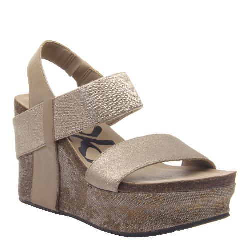 Women's OTBT Bushnell Wedge- Mid Taupe