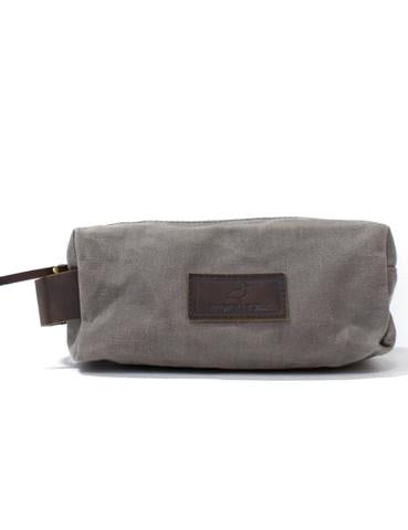 Properly Tied Summit Dopp Kit- Charcoal