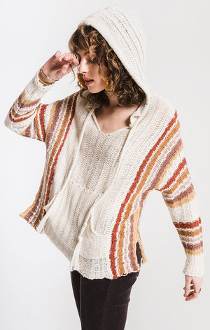 Women's Finn Sweater- Ivory