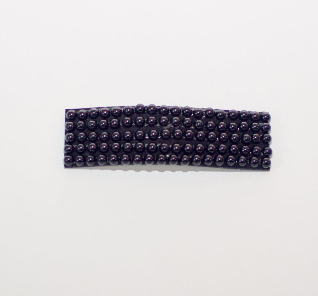 Black Beaded Hairclip - Spencer and James Hair Accessories for Girls
