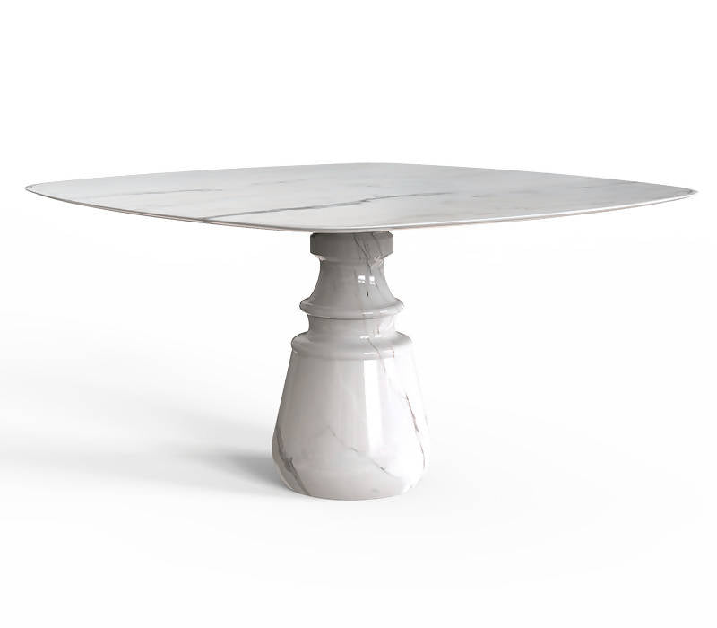 BOCA DO LOBO PIETRA SQUARE ESTREMOZ DINING TABLE