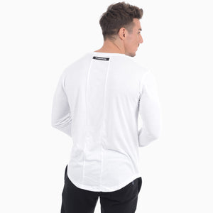 Phantom Athletics Langarm Shirt Zero Weiss