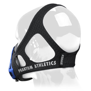 Phantom Trainingsmaske Training Mask Black Schwarz Blue Blau