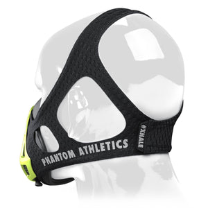 Phantom Trainingsmaske Training Mask Black Schwarz Neon Gelb Grün