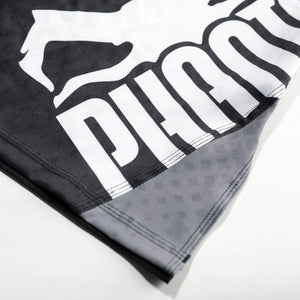 Phantom Athletics STORM NITRO Fighthorts Hose Thaiboxen Thai boxing  MMA Bottoms K1 Black Schwarz Grau Gray