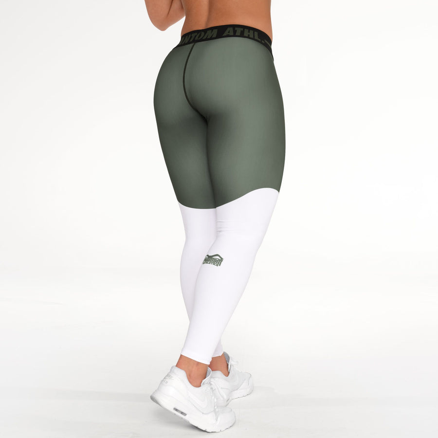 Phantom Athletics Leggings Eclipse Tights Waist Training Workout Yoga Grün Green