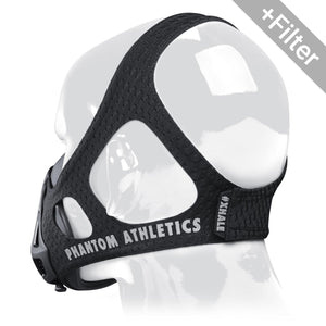PHANTOM ATHLETICS - Phantom Trainingsmaske mit GKD Filter