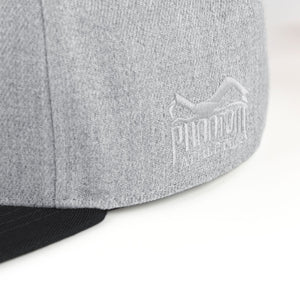 Phantom Athletics Cap Team Kappe Snapback Hat Grau Gray Black Schwarz