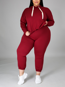 Lady like Jogger legging set