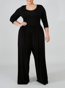 Palazzo Me please Black Jumpsuit