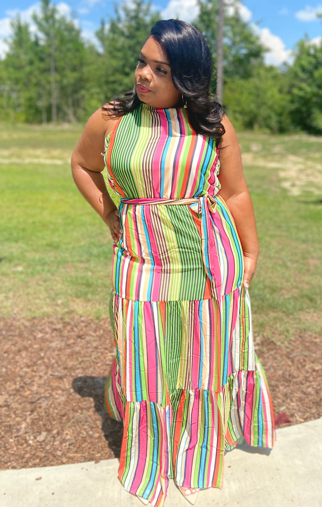 The Stripes Dress