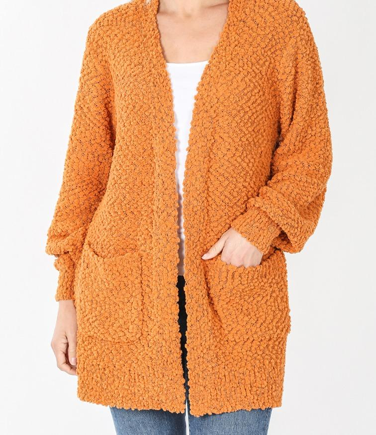 Pocketed Cozy Cardigan