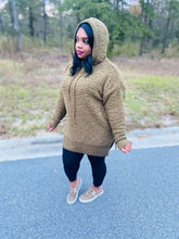 Load image into Gallery viewer, Oh so Comfy Olive Popcorn Sweater