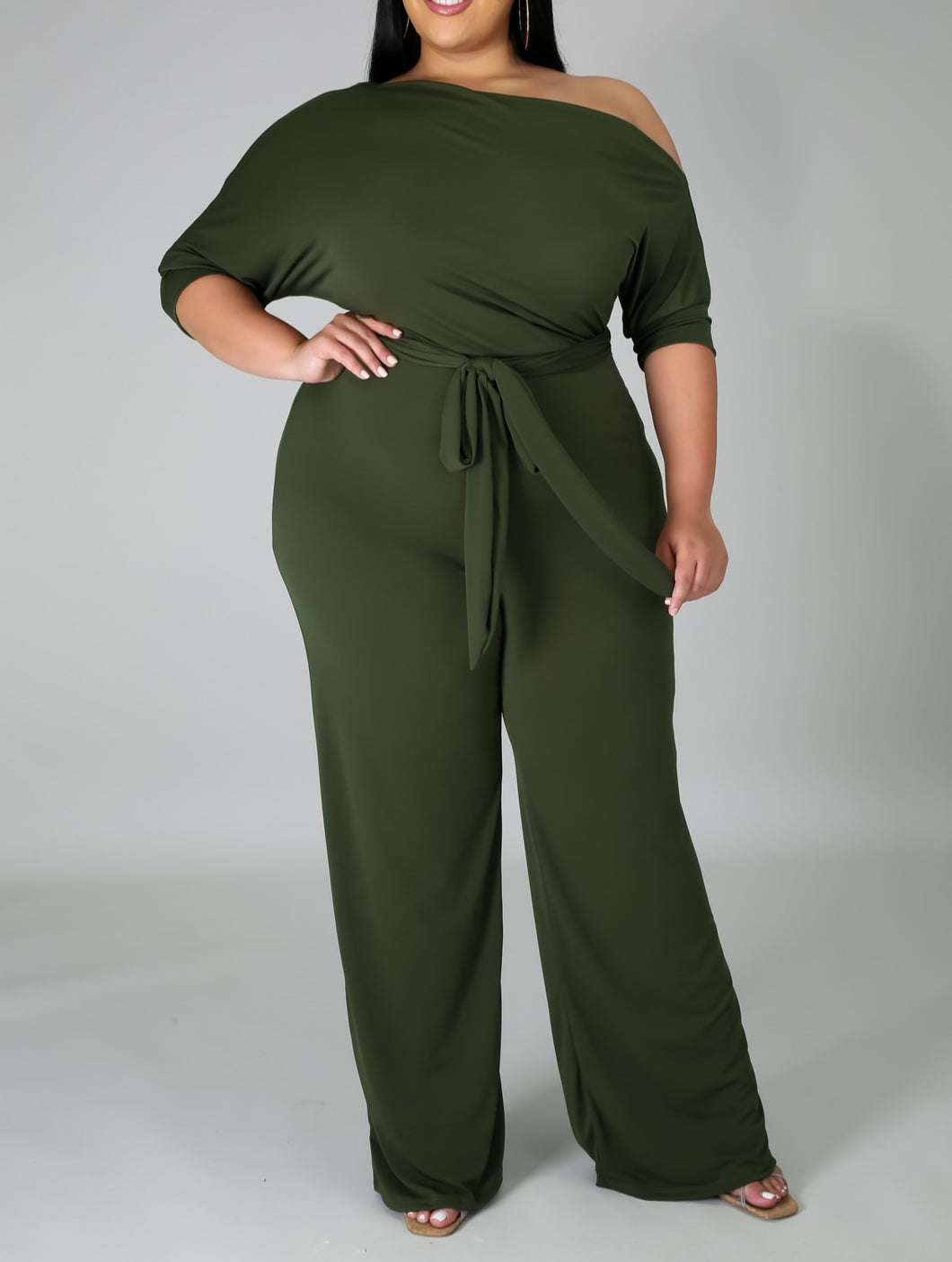 Olive You So Chic Jumpsuit
