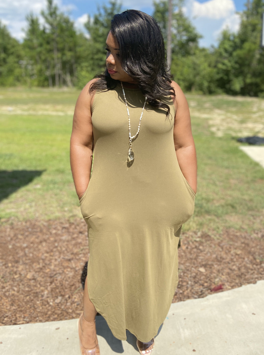 The Comfy Maxi Dress