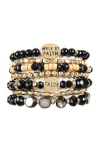 Load image into Gallery viewer, Walk by Faith bracelets/ Truly Blessed bracelets