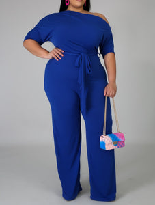 Royal Blue So Chic Jumpsuit
