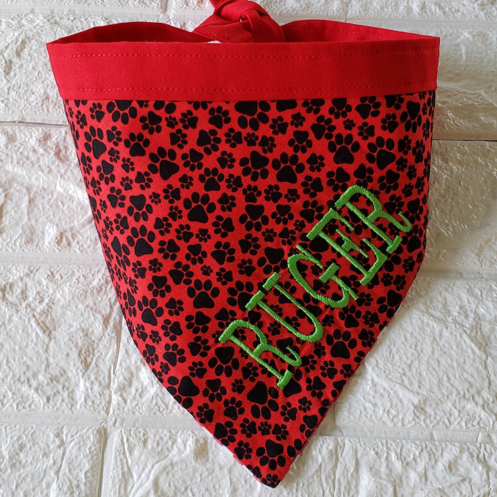 Paws Dog Bandana - Domestic Free Shipping