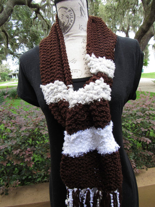 Namy Knitted Scarf to wear in a wedding, Original and Unique Gift Unisex - Domestic Free Shipping