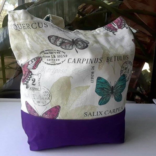 Butterflies Large Tote Bag, comfortable and good Gift for Travel (Domestic Free Shipping).