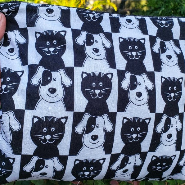 Cats & Dogs Clutch Wristlet, Amazing Gift for Vets - Domestic Free Shipping