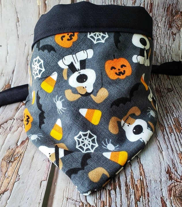 Pumpkin Dog Bandana, Original Dog Gift - Domestic Free Shipping.